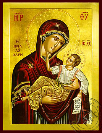 Panagia The Grate Grace - Byzantine Icon