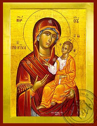 Panagia Grhgorousa - Byzantine Icon