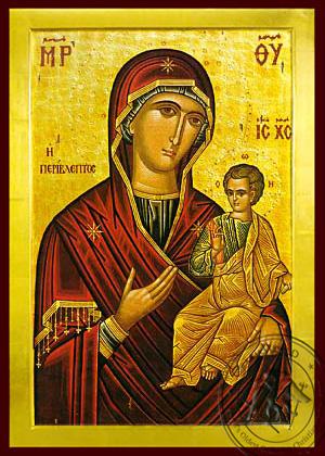 Panagia Perivleptos - Byzantine Icon