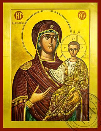 Panagia The Phaneromene - Byzantine Icon