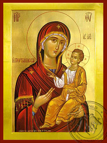 Panagia Portaitissa - Byzantine Icon