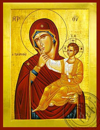 Panagia The Paramythia - Byzantine Icon