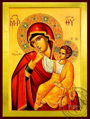 Virgin and Child, Paramythia - Byzantine Icon