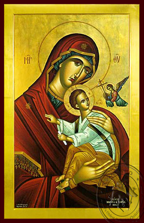 Panagia of Passion - Byzantine Icon