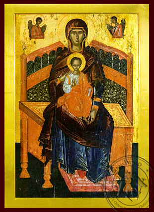 Panagia Lady of the Angels - Byzantine Icon