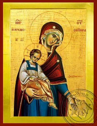 Panagia The Saviour of the World - Byzantine Icon