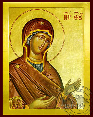 Panagia The Supplicating - Byzantine Icon