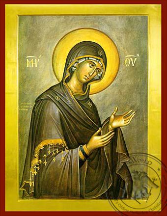Virgin, Supplicating - Byzantine Icon