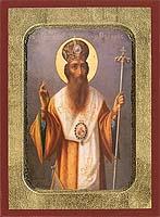 Saint Gregory Palamas - Aged Byzantine Icon