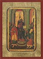 Wednesday middle of Pentecost - Aged Byzantine Icon