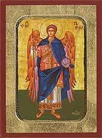 Gabriel Archangel Full Figure - Hand-Painted Icon
