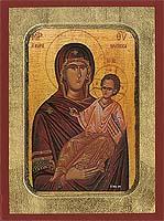 Panagia Spring of Myrrh - Hand-Painted Icon