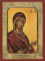 Panagia The Supplicating - Hand-Painted Icon