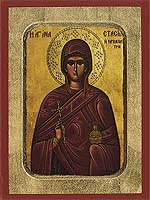 Saint Anastasia the Healer - Hand-Painted Icon