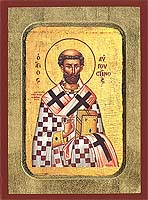 Saint Augustine - Hand-Painted Icon