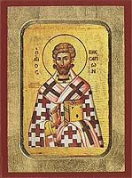 Saint Bessarion - Hand-Painted Icon