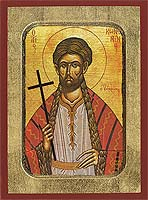 Saint Constantine of Hydra - Hand-Painted Icon