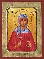 Saint Euthalia - Hand-Painted Icon