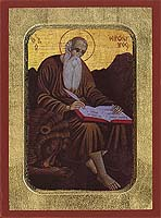 Saint Hieronymus - Hand-Painted Icon