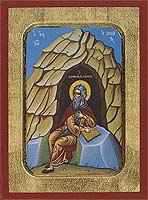 Saint John of Climax - Hand-Painted Icon