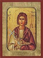 Saint Mamas - Hand-Painted Icon