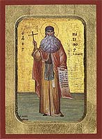 Saint Maximos the Greek - Hand-Painted Icon
