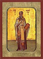 Saint Meletios of Antioch - Hand-Painted Icon