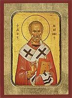 Saint Nicholas - Hand-Painted Icon
