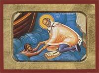 Saint Nicholas Help of Mariners - Hand-Painted Icon
