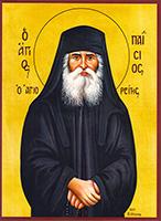 Saint Paisios of Mount Athos - Hand-Painted Icon