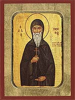 Saint Patapios - Hand-Painted Icon