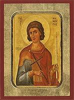 Saint Phanourios - Hand-Painted Icon