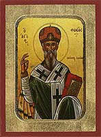 Saint Phokas - Hand-Painted Icon