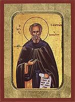 Saint Sampson - Hand-Painted Icon