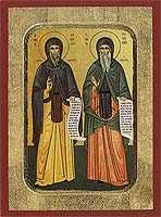Saint Symeon the Theologian - Hand-Painted Icon