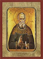 Saint Theodore Stoudites - Hand-Painted Icon