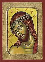 The Bridegroom Detail - Hand-Painted Icon