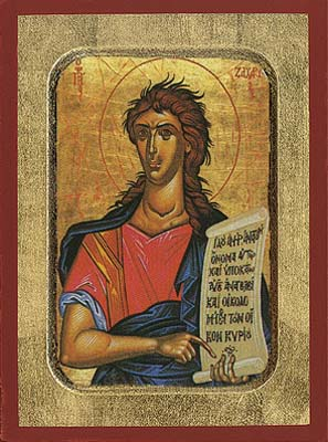 Zacharias the Prophet - Hand-Painted Icon