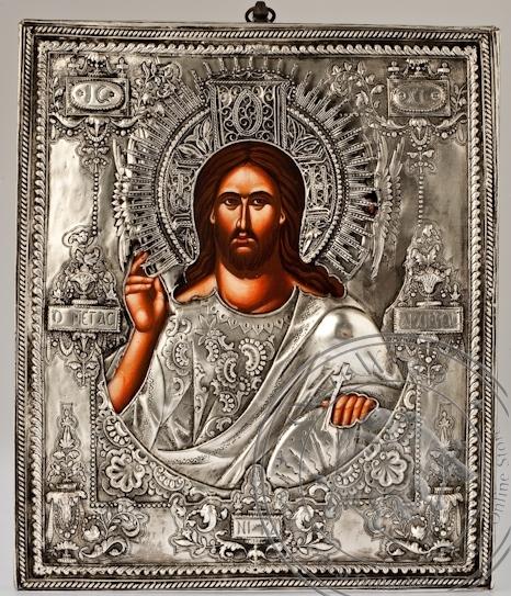 Deisis - Handmade Metal Icon