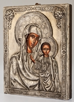 Our Lady of Kazan - Handmade Metal Icon