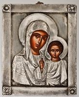 Our Lady of Kazan - Handmade Metal Icon
