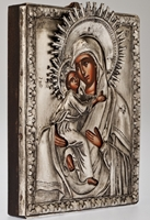 The Holy Virgin of Vladimir - Handmade Metal Icon
