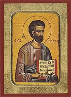 Mark the Apostle and Evangelist - Byzantine Icon