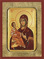 Panagia TheTriheroussa - Byzantine Icon