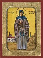 Saint Aglaia - Byzantine Icon