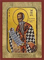 Saint Alexander of Constantinople - Byzantine Icon