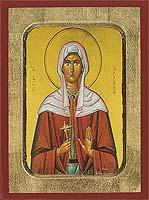Saint Christine - Byzantine Icon