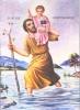 Saint Christophoros - Nazarene Art Icon