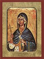 Saint Euphemia - Byzantine Icon