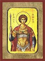 Saint George - Byzantine Icon